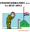 Cartoon: Commemoration 2013 (small) by cartoonharry tagged commemoration,holland,may4,2013,cartoons,cartoonists,cartoonharry,dutch,toonpool