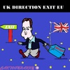 Cartoon: David Cameron (small) by cartoonharry tagged cameron,eu,england,back,out,cartoon,caricature,cartoonist,cartoonharry,dutch,toonpool