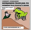 Cartoon: DEMJANJUK DISAPPEARS (small) by cartoonharry tagged demjanjuk,home,disappear,cartoon,cartoonist,cartoonharry,dutch,germany,secondworldwar