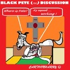 Cartoon: Dutch Black Pete (small) by cartoonharry tagged holland,blackpete,discussion