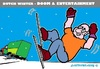 Cartoon: Dutch New Winters (small) by cartoonharry tagged fun,bad,winter,holland,dutch,accidents,traffic,skater