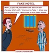 Cartoon: Fake Hotel (small) by cartoonharry tagged cartoonharry,fakehotel
