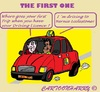 Cartoon: Formula One (small) by cartoonharry tagged formulaone,bernieecclestone,drivinglessons