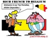 Cartoon: French to Paradise (small) by cartoonharry tagged paradise,belgium,french,tax,sidonia,obelix,depardieu,cartoon,cartoonist,cartoonharry,dutch,toonpool