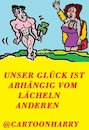 Cartoon: Lächeln (small) by cartoonharry tagged lachen,cartoonharry