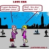 Cartoon: Less Love (small) by cartoonharry tagged love,husband,girlstalk,less