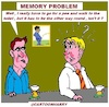 Cartoon: Memory Problem (small) by cartoonharry tagged memory,problem