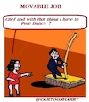 Cartoon: Movable Job (small) by cartoonharry tagged movable,cartoonharry