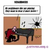Cartoon: Neighbours (small) by cartoonharry tagged piano,music,noisy,neighbour