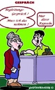 Cartoon: Nimm es Oma (small) by cartoonharry tagged gespraech,pillen,nimm,oma