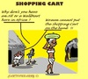 Cartoon: No ShoppingCarts (small) by cartoonharry tagged africa shopping carts