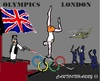Cartoon: Olympics 2012 (small) by cartoonharry tagged fear,olympics2012,terrorist,military,london,cartoon,cartoonist,cartoonharry,dutch,toonpool