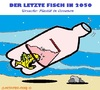 Cartoon: Ozeane voll Plastik (small) by cartoonharry tagged ozean,plastik,fisch
