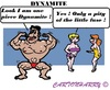 Cartoon: Pity (small) by cartoonharry tagged dynamite,fuse,little,viagra,toonpool