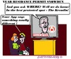 Cartoon: Residance Permit Snowden (small) by cartoonharry tagged russia,snowden,residance,permit,peterrdevries,app,toonpool
