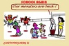 Cartoon: School Beginn (small) by cartoonharry tagged school,teachers,monsters,beginn,2015
