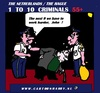 Cartoon: Senior Criminals (small) by cartoonharry tagged senior,criminals,cartoon,cartoonharry,holland,cartoonist,dutch,thieves,toonpool