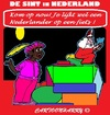 Cartoon: Sint ah Werk (small) by cartoonharry tagged nederland,sinterklaas