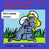 Cartoon: Smurfs in 3D (small) by cartoonharry tagged smurfs,3d,today,normal,cartoon,cartoonist,cartoonharry,sexy,sex,dutch,toonpool