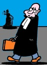 Cartoon: Sprich Gerade (small) by cartoonharry tagged expression,judge,anwalt