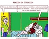 Cartoon: Strekken (small) by cartoonharry tagged oma,rekken,strekken,cartoonharry