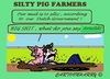 Cartoon: Tell it Arnold (small) by cartoonharry tagged holland,dutch,shit,mud,government,pigs