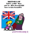 Cartoon: The Forbidden Kiss (small) by cartoonharry tagged england,kiss,grandpa,grandchild