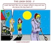 Cartoon: The Leash does (small) by cartoonharry tagged leash,dog,cartoonharry