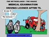 Cartoon: Very OldInstructor (small) by cartoonharry tagged car,driverslicence,driver,licence,old,examination,accident,tree,cartoon,comic,comics,comix,artist,driving,drawing,cartoonist,cartoonharry,toonpool,toonsup,facebook,dutch,holland,hyves,linkedin,buurtlink,deviantart