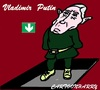 Cartoon: Vladimir Putin (small) by cartoonharry tagged putin down russia caricature cartoon cartoonist cartoonharry dutch toonpool
