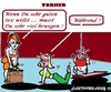 Cartoon: Waehrend (small) by cartoonharry tagged waehrend,jetzt,sex,fitness,sport