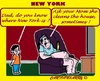 Cartoon: Well Daddy (small) by cartoonharry tagged family,dad,mom,son,newyork,search,find,look,clean,cartoonharry