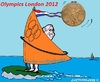 Cartoon: Windsurfing Gold (small) by cartoonharry tagged dorian,dutch,windsurfen,windsurfing,olympics,london,cartoon,cartoonist,cartoonharry,toonpool
