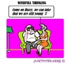 Cartoon: Wishfull Thinking (small) by cartoonharry tagged grandpa,grandma,fake