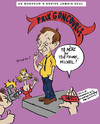 Cartoon: Michel Houellebecq (small) by Zombi tagged houellebecq,cartoon,caricature
