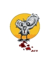Cartoon: BLOODY CHICK (small) by joschoo tagged blood,chick,berserker