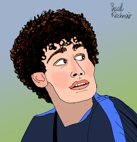 Cartoon: Benjamin Pavard (medium) by Pascal Kirchmair tagged foot,football,fußball,futebol,futbol,benjamin,pavard,jeumont,maubeuge,nord,france,equipe,de,allez,les,bleus,tricolore,marseillaise,edf,fff,cartoon,caricature,karikatur,ilustracion,illustration,pascal,kirchmair,dibujo,desenho,drawing,zeichnung,disegno,ilustracao,illustrazione,illustratie,dessin,presse,du,jour,art,of,the,day,tekening,teckning,cartum,vineta,comica,vignetta,caricatura,portrait,retrato,ritratto,portret,foot,football,fußball,futebol,futbol,benjamin,pavard,jeumont,maubeuge,nord,france,equipe,de,allez,les,bleus,tricolore,marseillaise,edf,fff,cartoon,caricature,karikatur,ilustracion,illustration,pascal,kirchmair,dibujo,desenho,drawing,zeichnung,disegno,ilustracao,illustrazione,illustratie,dessin,presse,du,jour,art,of,the,day,tekening,teckning,cartum,vineta,comica,vignetta,caricatura,portrait,retrato,ritratto,portret