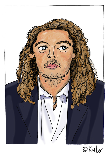 Cartoon: Bruno Metsu (medium) by Pascal Kirchmair tagged bruno,metsu,caricature,dessin,karikatur,cartoon,portrait,zeichnung,fußball,soccer,futbol,futebol,foot,entraineur,trainer,senegal,wm,weltmeisterschaft,coupe,du,monde