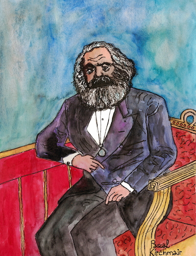 Cartoon: KARL MARX (medium) by Pascal Kirchmair tagged karl,marx,portrait,porträt,retrato,drawing,desenho,zeichnung,dibujo,dessin,karikatur,caricature,pascal,kirchmair,ritratto,watercolour,disegno,aquarell,illustration,ilustracao,ilustracion,trier,marxismus,sozialismus,kommunismus,socialism,karl,marx,portrait,porträt,retrato,drawing,desenho,zeichnung,dibujo,dessin,karikatur,caricature,pascal,kirchmair,ritratto,watercolour,disegno,aquarell,illustration,ilustracao,ilustracion,trier,marxismus,sozialismus,kommunismus,socialism