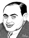 Cartoon: Al Capone (small) by Pascal Kirchmair tagged al,capone,pate,godfather,mobster,mafia,boss,crime,family,syndicate,mastermind,lord,usa,illustration,drawing,zeichnung,pascal,kirchmair,cartoon,caricature,karikatur,ilustracion,dibujo,desenho,ink,disegno,ilustracao,illustrazione,illustratie,dessin,de,presse,du,jour,art,of,the,day,tekening,teckning,cartum,vineta,comica,vignetta,caricatura,portrait,retrato,ritratto,portret,gangster,chicago,outfit,mob,prohibition,era