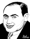 Cartoon: Al Capone II (small) by Pascal Kirchmair tagged al,capone,pate,godfather,mobster,mafia,boss,crime,family,syndicate,mastermind,lord,usa,illustration,drawing,zeichnung,pascal,kirchmair,cartoon,caricature,karikatur,ilustracion,dibujo,desenho,ink,disegno,ilustracao,illustrazione,illustratie,dessin,de,presse,du,jour,art,of,the,day,tekening,teckning,cartum,vineta,comica,vignetta,caricatura,portrait,retrato,ritratto,portret,gangster,chicago,outfit,mob,prohibition,era