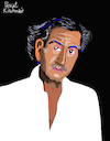 Cartoon: Bernard-Henri Levy (small) by Pascal Kirchmair tagged bernard,henri,levy,bhl,illustration,drawing,zeichnung,pascal,kirchmair,cartoon,caricature,karikatur,ilustracion,dibujo,desenho,ink,disegno,ilustracao,illustrazione,illustratie,dessin,de,presse,du,jour,art,of,the,day,tekening,teckning,cartum,vineta,comica,vignetta,caricatura,portrait,retrato,ritratto,portret,kunst,writer,author,autor,autore,auteur,schriftsteller,literatura,paris,france,reporter,philosophe,philosophy,philosopher,philosoph,filosofo