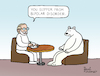 Cartoon: Bipolar Disorder (small) by Pascal Kirchmair tagged polar,ice,bear,ours,polaire,blanc,oso,blanco,orso,polare,bianco,urso,branco,eisbär,polarbär,bipolar,disorder,störung,psychiater,psychiatrist,psychiatre,gag,humour,umorismo,umore,spirito,humor,lustig,cartoon,caricature,karikatur,pascal,kirchmair,no,deal,illustration,drawing,zeichnung,political,politische,ilustracion,dibujo,desenho,ink,disegno,ilustracao,illustrazione,illustratie,dessin,de,presse,du,jour,art,of,the,day,tekening,teckning,cartum,vineta,comica,vignetta,caricatura,esprit,witz
