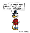 Cartoon: Famous last words (small) by Pascal Kirchmair tagged finanzkrise cyprus chypre zypern krise banken dagobert duck oncle picsou mcduck uncle scrooge onkel