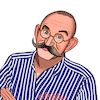 Cartoon: Horst Lichter (small) by Pascal Kirchmair tagged koch,moderator,entertainer,horst,lichter,caricature,cartoon,karikatur,portrait,porträt,illustration,zeichnung