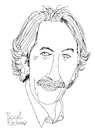 Cartoon: Jean Rochefort (small) by Pascal Kirchmair tagged jean rochefort dessin dibujo retrato ritratto portrait desenho drawing caricature karikatur cartoon illustration ilustracion ilustracao illustrazione pascal kirchmair zeichnung porträt portret cartum tekening disegno teckning