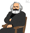 Cartoon: KARL MARX (small) by Pascal Kirchmair tagged 200 jahre karl marx cartoon zeichnung desenho caricature illustration ilustracion pascal kirchmair portrait retrato ritratto drawing dibujo disegno ilustracao illustrazione illustratie dessin du jour art of the day tekening teckning cartum vineta comica vignetta caricatura karikatur ink immagine image bild imagen imagem arte london capital kapital marxismus marxism marxismo marxisme trier