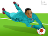 Cartoon: Keylor Navas (small) by Pascal Kirchmair tagged keilor,keylor,antonio,navas,gamboa,costa,rica,foot,football,soccer,champions,league,futebol,futbol,psg,paris,st,saint,germain,goalkeeper,goalie,tormann,gardien,de,but,torhüter,portero,portiere,calcio,guarda,redes,goleiro,arquero,illustration,drawing,zeichnung,pascal,kirchmair,cartoon,caricature,karikatur,ilustracion,dibujo,desenho,ink,disegno,ilustracao,illustrazione,illustratie,dessin,presse,du,jour,art,of,the,day,tekening,teckning,cartum,vineta,comica,vignetta,caricatura,portrait,porträt,portret,retrato,ritratto