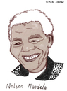 Cartoon: Madiba (small) by Pascal Kirchmair tagged south,africa,afrique,du,sud,südafrika,african,national,congress,nelson,mandela,madiba,anc,caricature,karikatur,cartoon,vignetta,politik,friedensnobelpreis