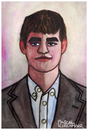Cartoon: Magnus Carlsen (small) by Pascal Kirchmair tagged magnus carlsen schachweltmeister portrait caricature karikatur retrato ritratto dibujo chess echecs ajedrez scacchi drawing dessin desenho zeichnung illustration